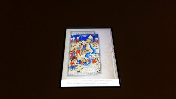 Qisas al-anbiya, 1577, Staatsbibliothek zu Berlin, deels digitaal door te bladeren. Foto: Evert-Jan Pol.