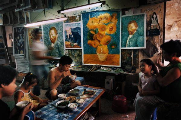 Fragment uit China's Van Goghs.  © Yu Haibo
