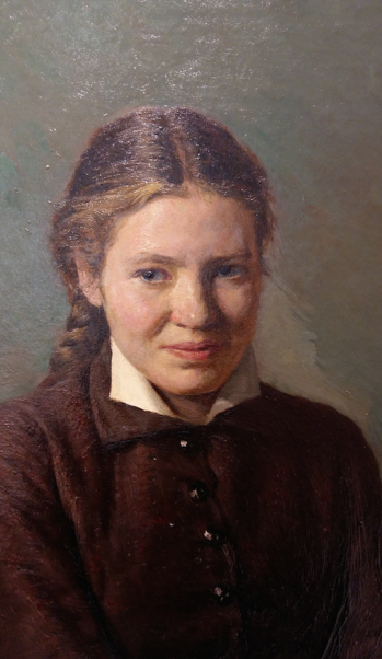Nikolay Yaroshenko, Studente (detail), 1880, Staats Russisch Museum, Sint-Petersburg.
