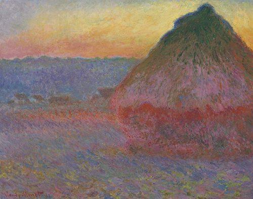 Claude Monet (1840-1926), Meule, olieverf op doek. Foto: Christie's Images ltd.