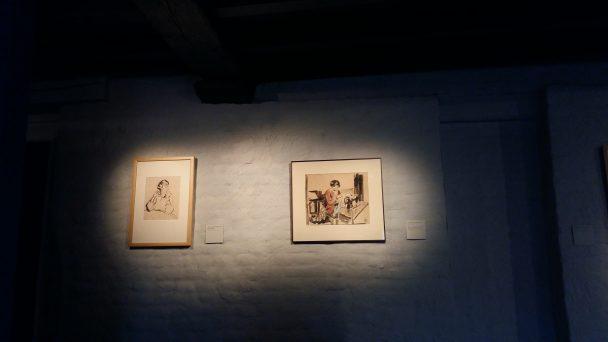 Twee tekeningen van Nel.