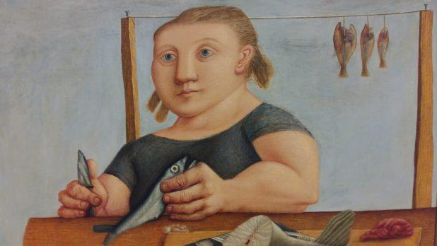 Co Westerik, De visvrouw, 1951, Groninger Museum.