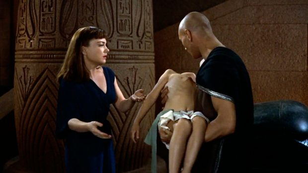 Fragment uit The Ten Commandments van Cecil B. DeMille, 1956. Foto: Paramount Pictures.