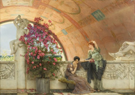 Sir Lawrence Alma-Tadema, Onbewuste rivalen, 1893, olieverf op doek, Bristol Museums & Art Gallery, Bristol.