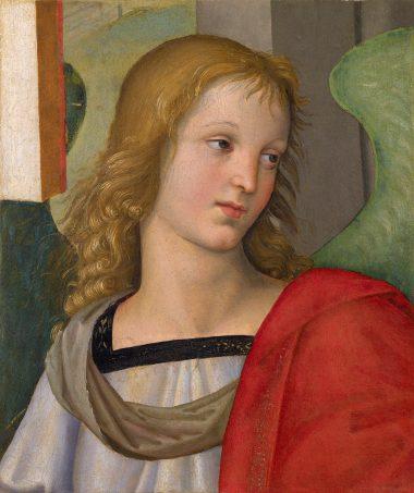 Rafaël, Engel, 1501, Pinacoteca Tosio Martingo Brecia.