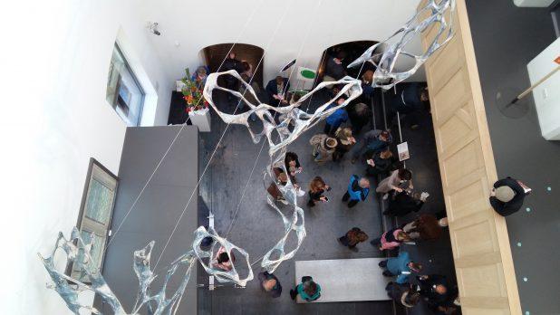 Bezoekers in het Centraal Museum in Utrecht. Foto: Evert-Jan Pol.