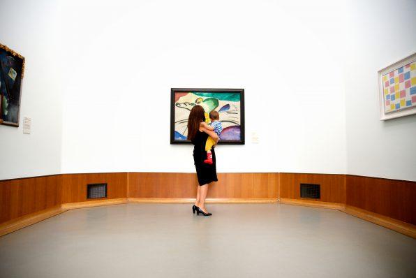 Op bezoek in Museum Boijmans Van Beuningen. Foto: Rob van Dalen.