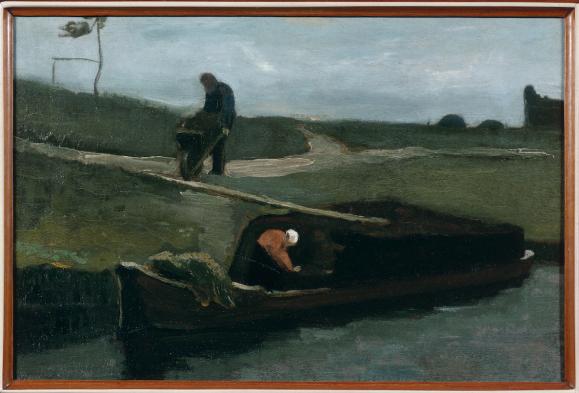 Vincent van Gogh, De Turfschuit, 1883, Drents Museum.