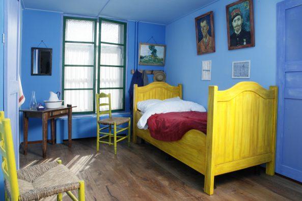 Overnachten in Van Goghs slaapkamer - Digitale Kunstkrant